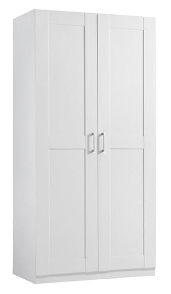 Armario ropero calgary 206x100x60 cm ref 14783363 leroy for Armarios sin puertas leroy merlin