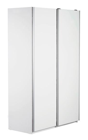 Armario ropero mallorca blanco 200x120x59 cm ref 16242905 for Armarios empotrados leroy merlin