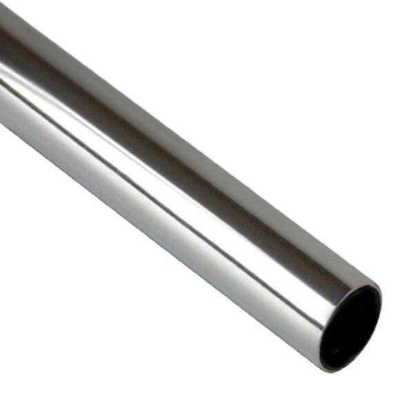 Barra de armario barra redonda plata ref 11080503 leroy - Barras de armario ...