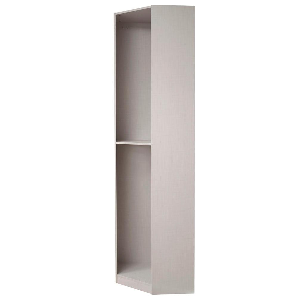 M dulo interior chafl n puertas abatibles leroy merlin - Modulos interior armario ...