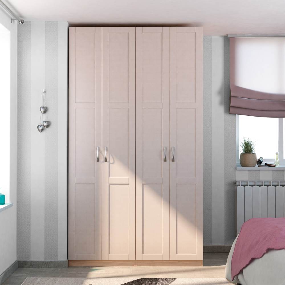 Puerta abatible spaceo picasso ref 16319380 leroy merlin for Armarios sin puertas leroy merlin
