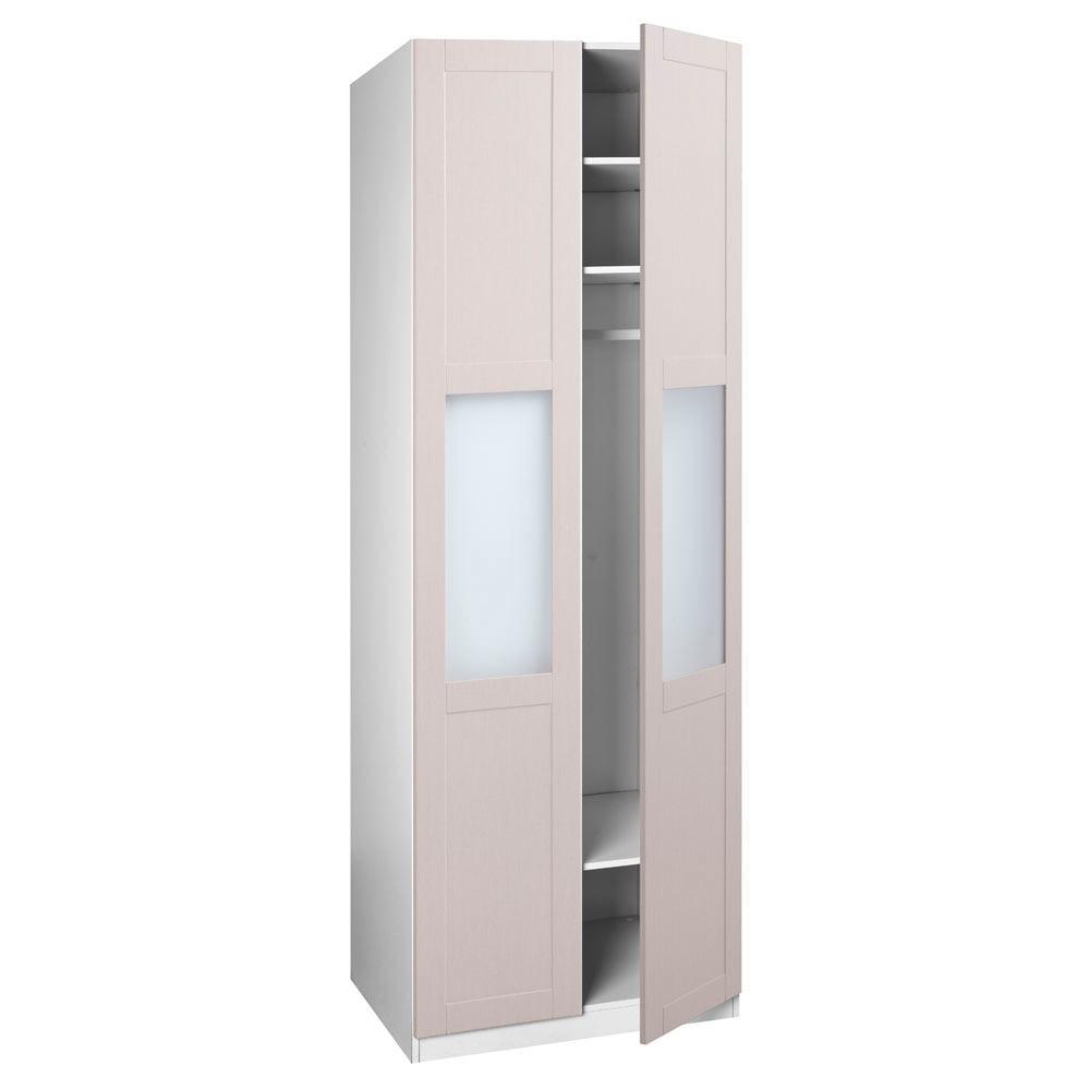 Puerta abatible spaceo picasso cristal ref 16319324 for Puertas abatibles leroy merlin