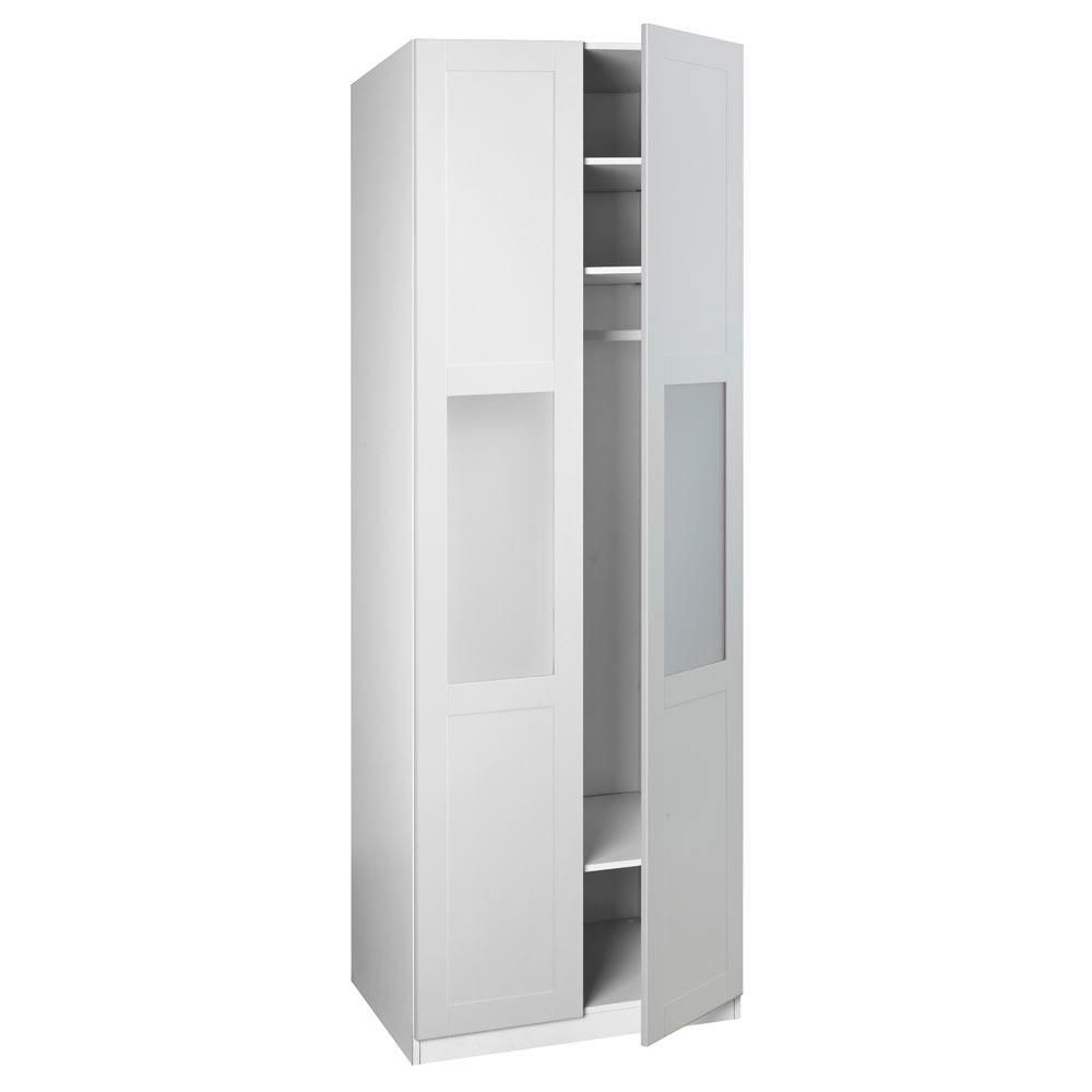 Puerta abatible spaceo picasso cristal ref 16319555 for Puertas abatibles leroy merlin