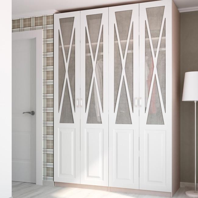 Puerta abatible spaceo renoir ref 16327941 leroy merlin - Puertas abatibles para armarios empotrados ...