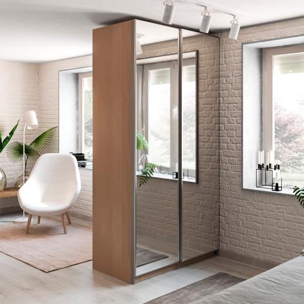 Puertas correderas de armario leroy merlin - Como colocar puertas correderas ...