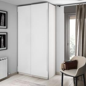 Puertas correderas de armario leroy merlin - Puerta corredera 120 cm ...