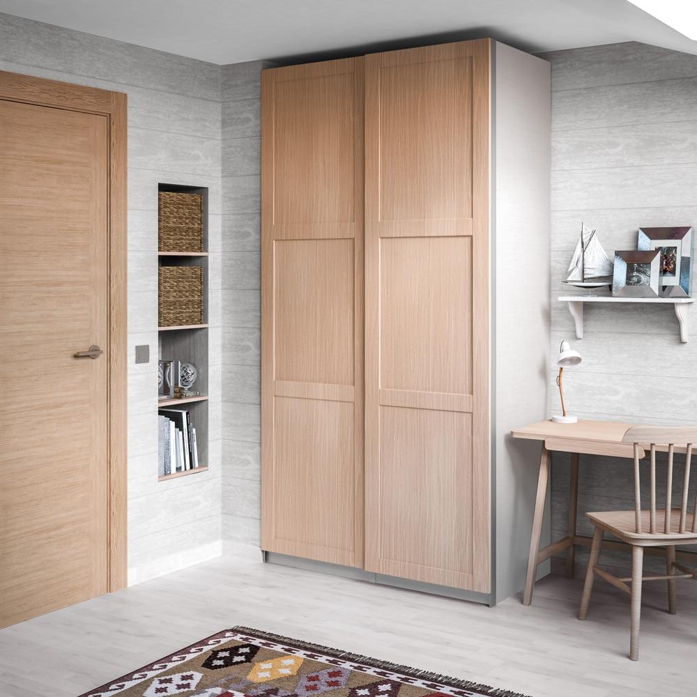 Puerta corredera de armario spaceo picasso ref 16319772 - Puertas correderas leroy merlin armarios ...