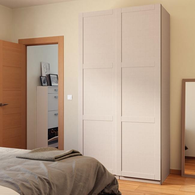 Puerta corredera de armario spaceo picasso ref 16319954 for Puertas de armario leroy merlin