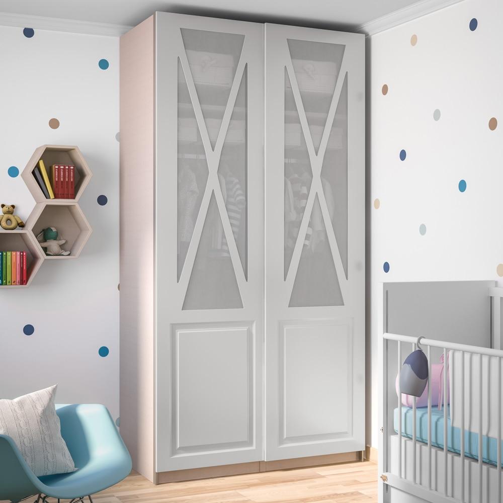 Puerta corredera de armario spaceo renoir ref 18677001 - Puertas para chimeneas leroy merlin ...