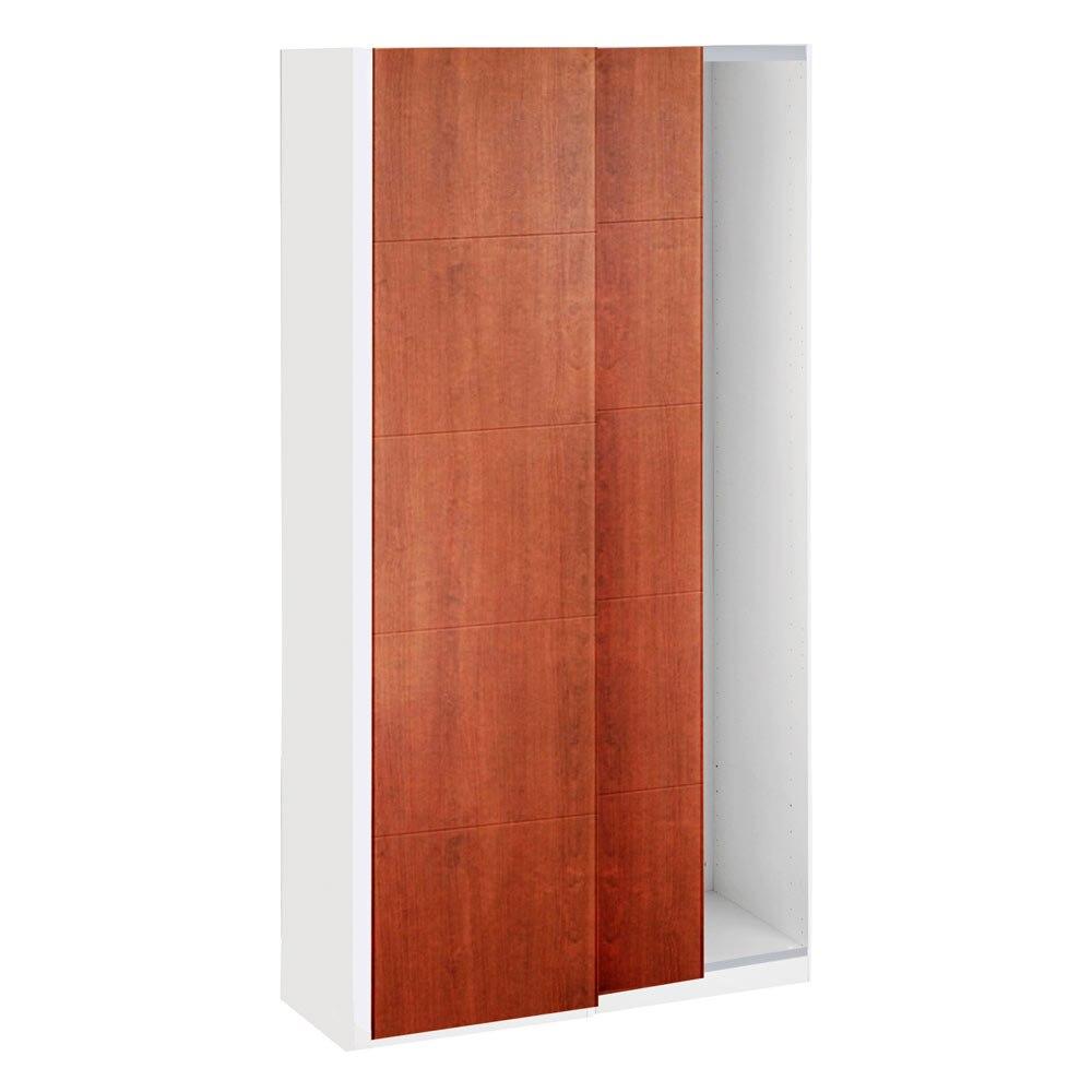 Puerta corredera de armario zurbar n ref 16319436 leroy for Puertas correderas 60 cm