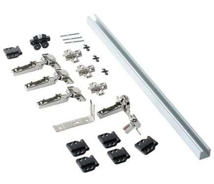 kit para puertas plegables de 80 cm ref 16327962 leroy