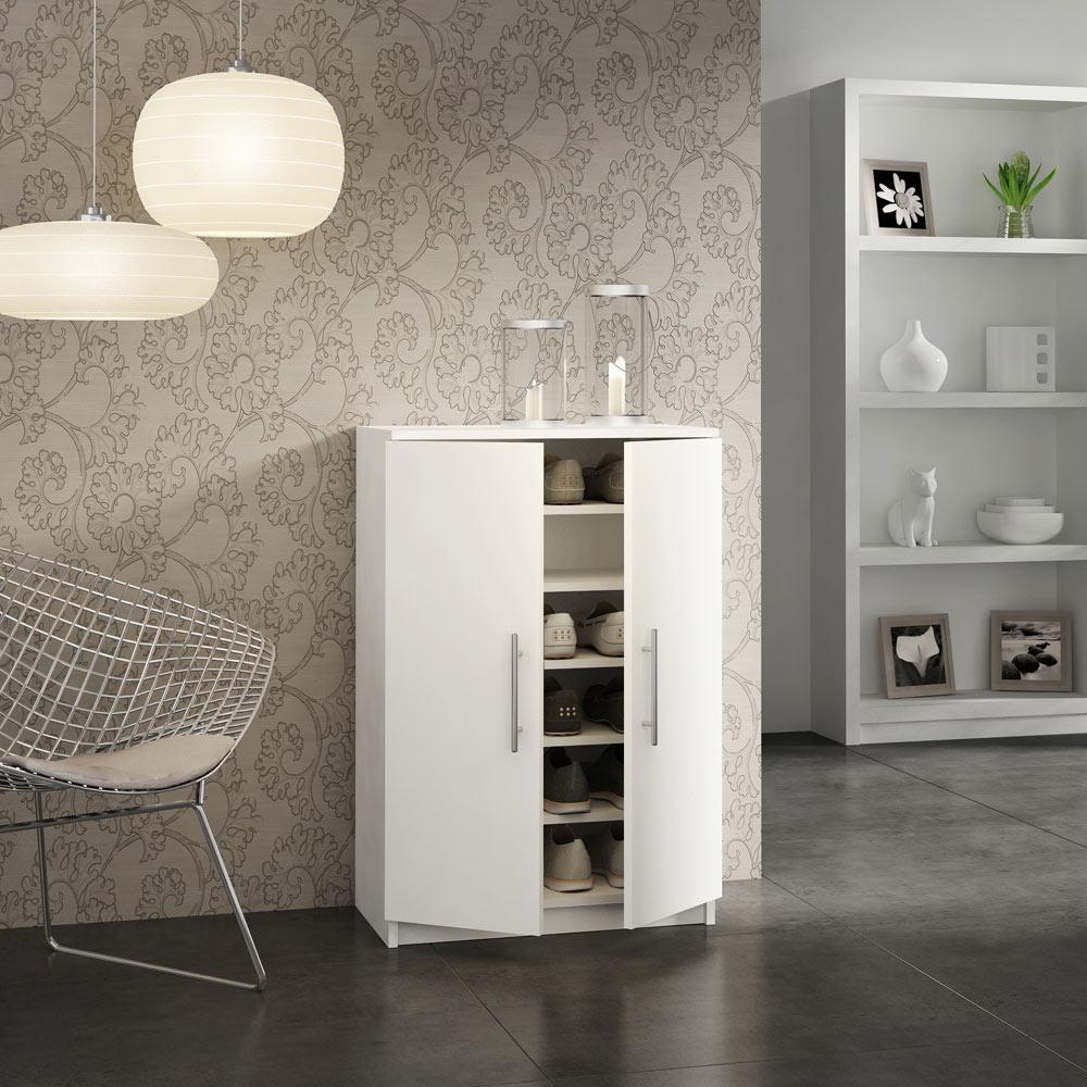 zapatero para 18 pares nimes ref 16393405 leroy merlin. Black Bedroom Furniture Sets. Home Design Ideas