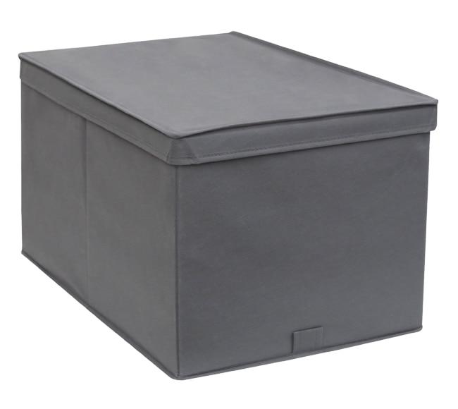 Caja de tela spaceo ref 19340552 leroy merlin - Cajas almacenaje ropa ...