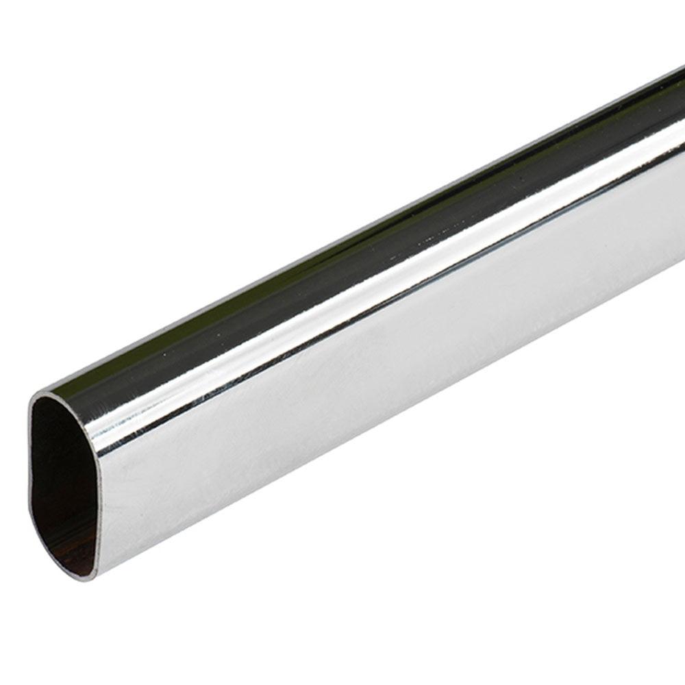 Barra de armario barra oval ref 10318651 leroy merlin - Barras de armario ...