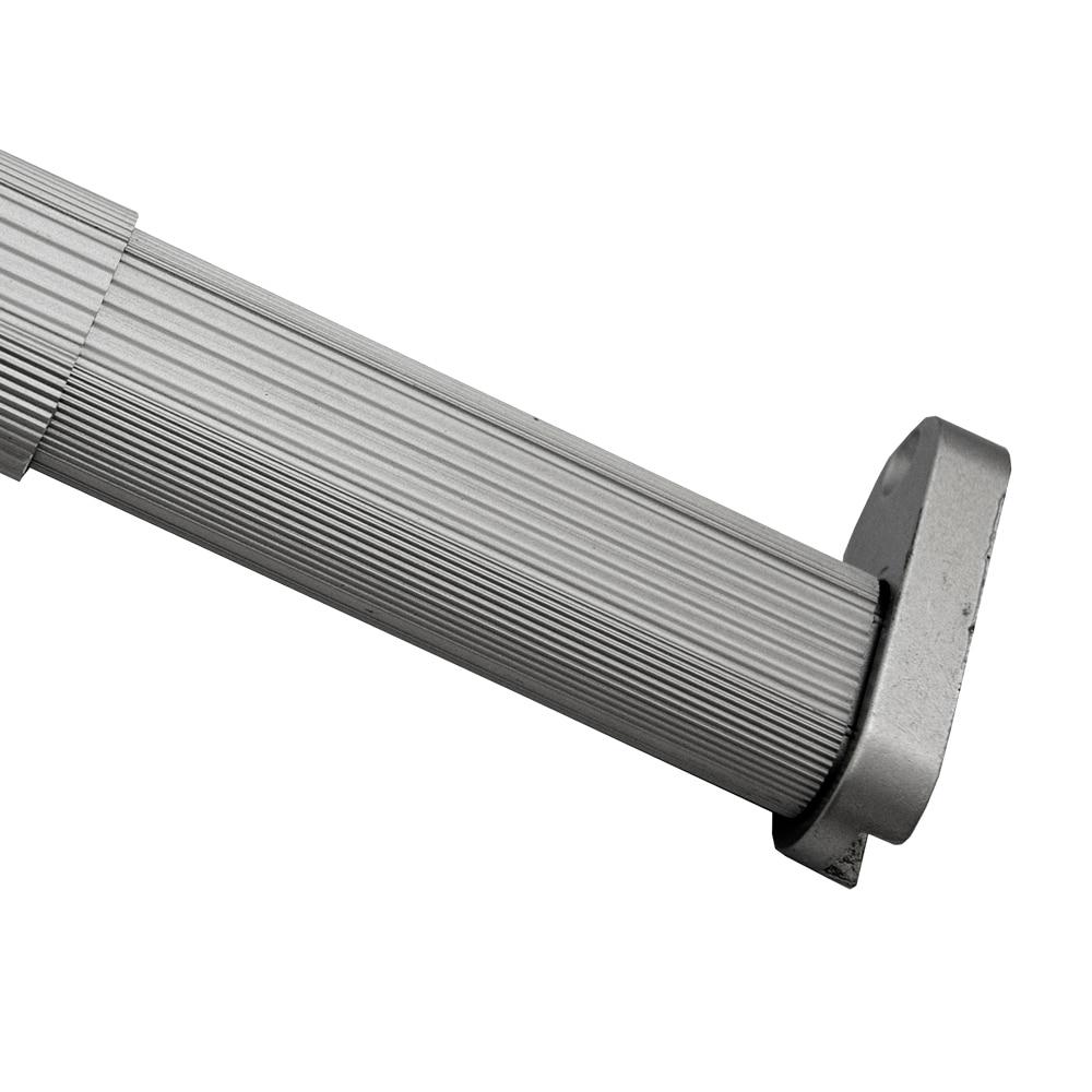 Kit de barra extensible y soportes kit barra extensible - Leroy merlin barras de cortina ...