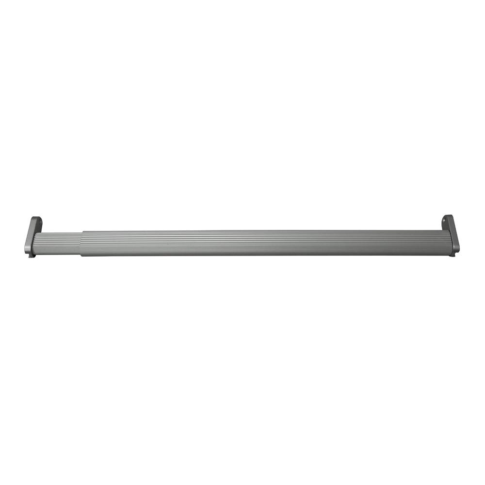 Kit de barra extensible y soportes kit barra extensible - Barras de cocina leroy merlin ...