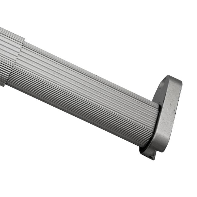 Kit de barra extensible y soportes kit barra extensible - Barras cortinas leroy merlin ...