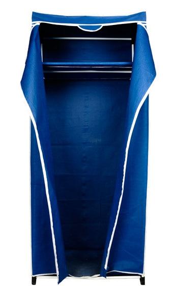 Armario 75x180x50 cm TNT AZUL C BALDA Ref 14122241
