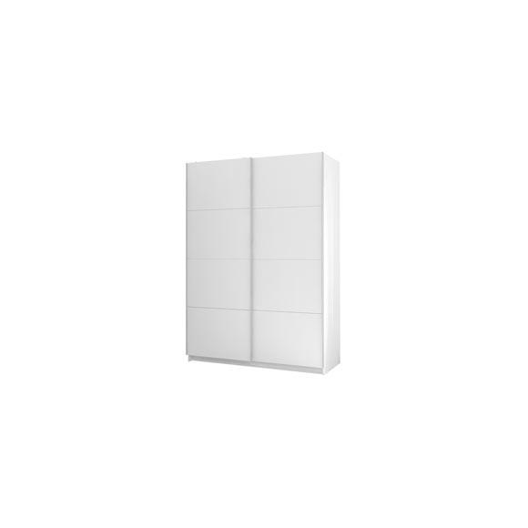 Armario 150x210x61 cm 2ptas basic blanco ref 19923162 for Armarios fondo 30 cm