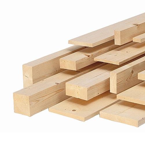 Listones de abeto sin cepillar largo 2 m leroy merlin - Precio listones de madera ...
