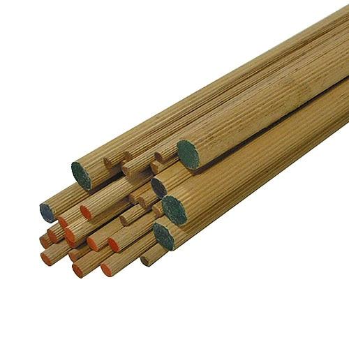 Varilla haya varilla de haya largo 1 m ref 14122444 - Postes de madera leroy merlin ...