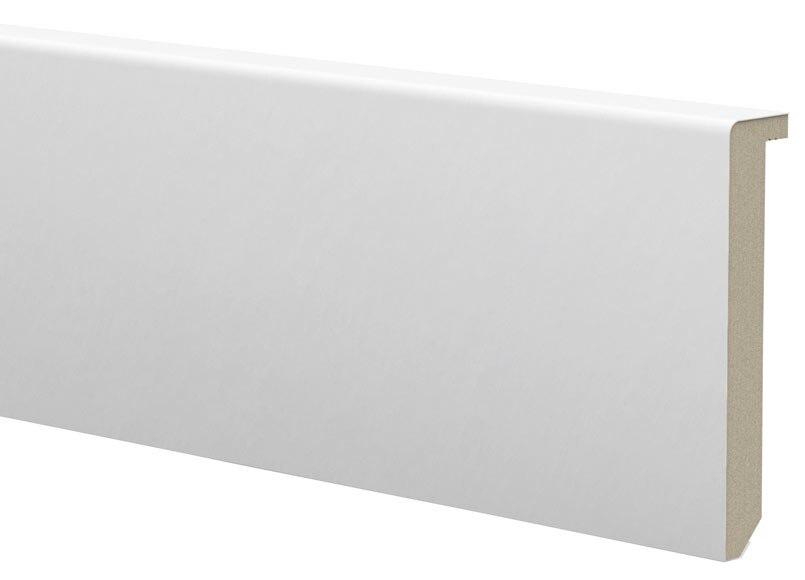 Cubre Zócalo Blanco Lacado 90x19x2440 Ref 17402721 Leroy Merlin