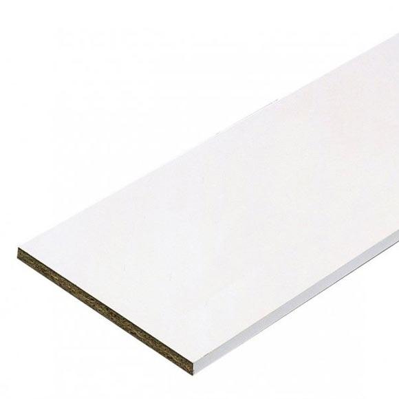 Tablero canteado 2 cantos melamina blanco ref 15663130 - Tablero blanco ...