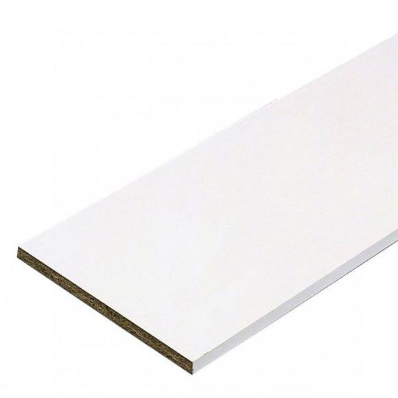 Tablero canteado 2 cantos melamina blanco 2c ref 15663130 - Corte tableros a medida leroy merlin ...