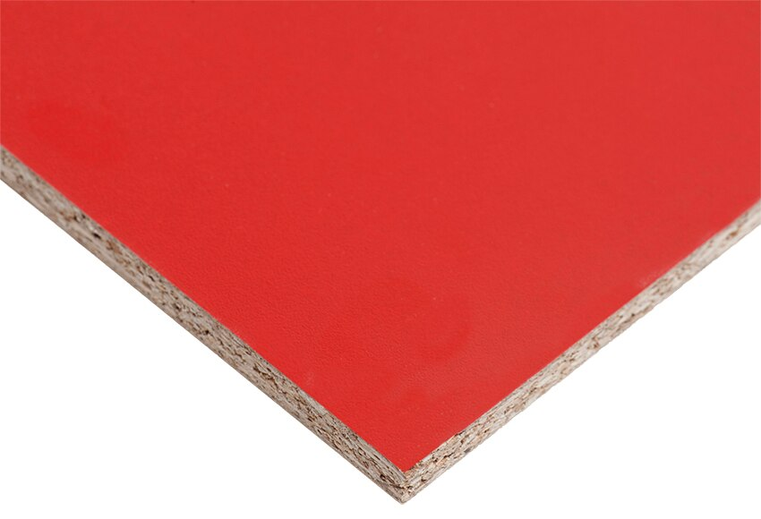 Tablero melamina rojo melamina rojo ref 14632072 leroy - Corte tableros a medida leroy merlin ...