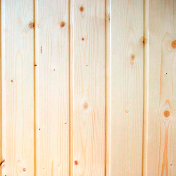 Friso de madera frisolar abeto natural ref 14796782 for Friso leroy merlin