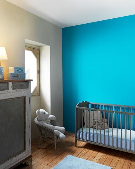 Cuisine blanche mur bleu canard 3932 for Cuisine blanche mur bleu canard
