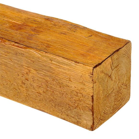 Viga decorativa miel ref 14696801 leroy merlin - Como colocar vigas de madera ...