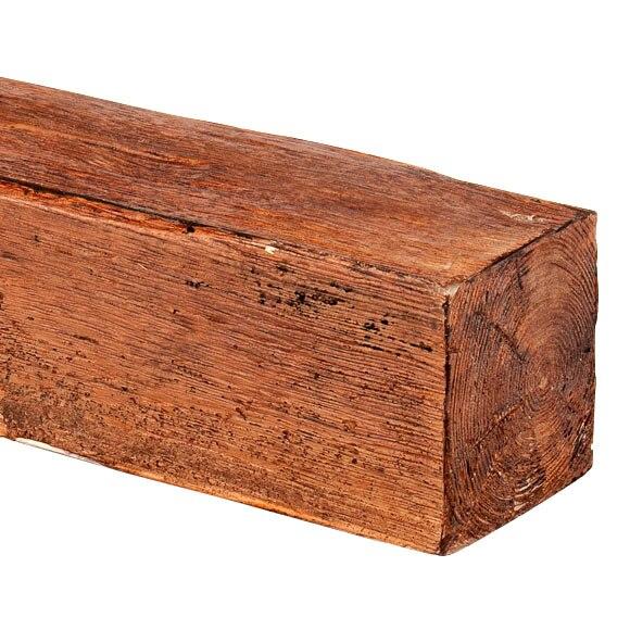 Viga decorativa nogal ref 14696836 leroy merlin - Vigas imitacion madera leroy merlin ...
