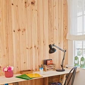 Revestimiento de pared rastrelado leroy merlin - Revestimiento de paredes interiores en madera ...