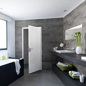 revestimiento de pared adhesivo leroy merlin On revestimiento adhesivo baño