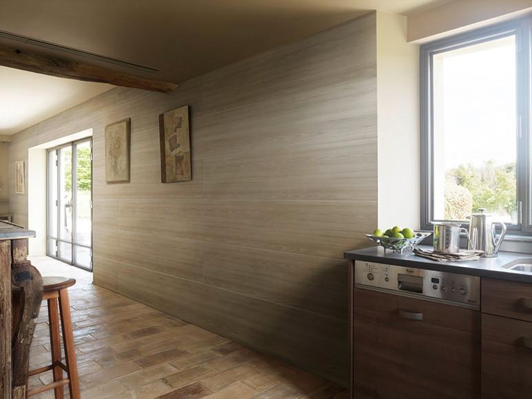 revestimiento para pared de pvc attitude pino topo ref 15723554 leroy merlin. Black Bedroom Furniture Sets. Home Design Ideas
