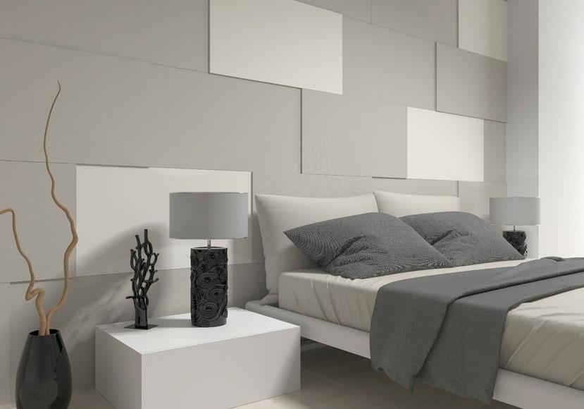 Revestimiento adhesivo rectangular gris metalizado ref - Revestimiento adhesivo pared ...