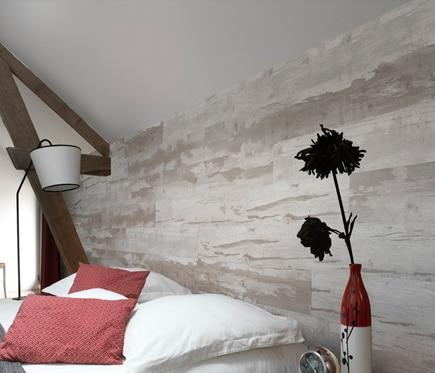 Revestimiento de pared grosfillex cabane natural ref - Alisar paredes leroy merlin ...