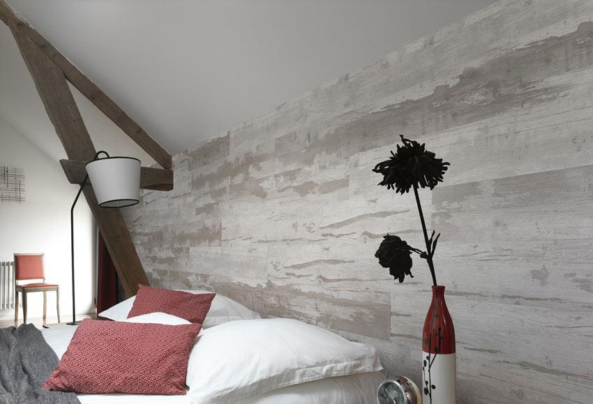 Revestimiento de pared grosfillex cabane natural ref - Revestimiento paredes interiores leroy merlin ...