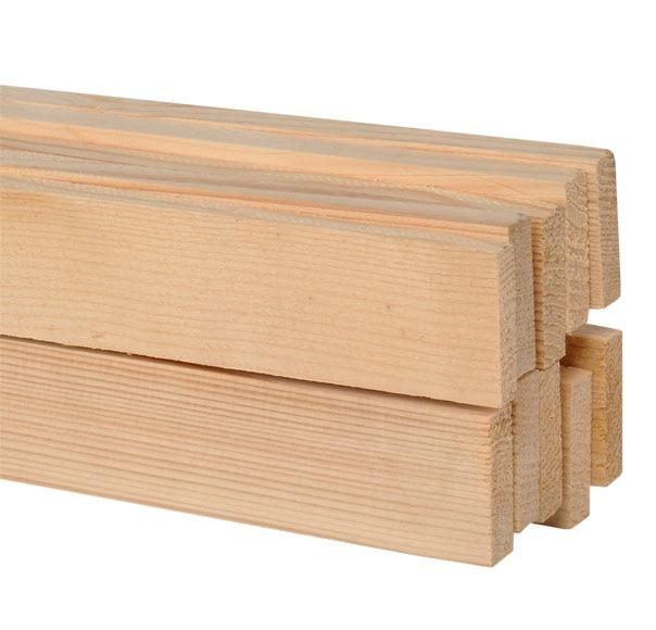 Pack 10 listones abeto cepillado ref 11221903 leroy merlin for Listones de madera tratada leroy merlin