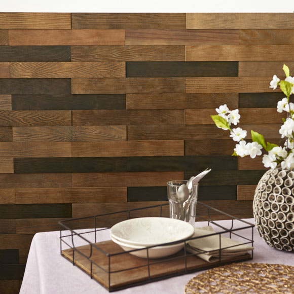 revestimiento autoadhesivo de madera pino 3d marr n ref On revestimiento autoadhesivo