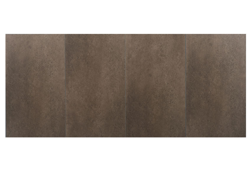 Revestimiento para pared de pvc compact mineral taupe ref for Revestimiento pvc leroy merlin