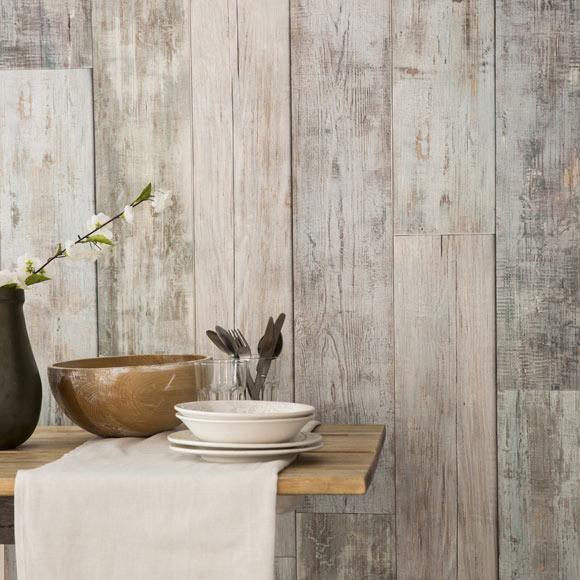 Revestimiento para pared de pvc element 3d vintage azul - Revestimiento de paredes leroy merlin ...