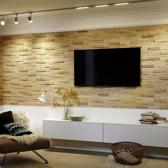 Revestimiento de pared madera ultrawood oak firenze ref - Revestimientos de paredes interiores en madera ...