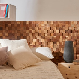 Revestimiento de pared ULTRAWOOD TEAK SQUARE