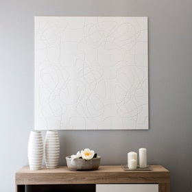 Revestimiento de pared de poliuretano DECOFLAIR 3D LACES