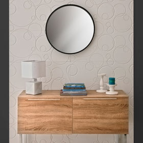 Revestimiento de pared de poliuretano DECOFLAIR 3D BUBBLES