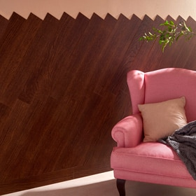 Revestimiento autoadhesivo STARWOOD 800X116 DARK BROWN OAK