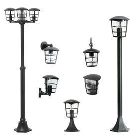 Conjuntos iluminaci n exterior leroy merlin for Lampara para exteriores casas