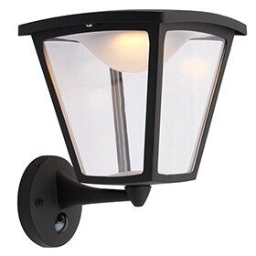 Aplique descendente led philips cotage negro ref 17472924 for Aplique led philips